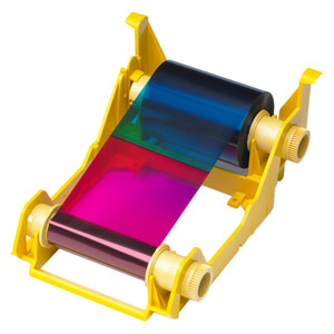 Zebra 800033-340 High-Capacity Color Ribbon - YMCKO - 280 prints