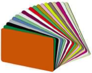 PVC Graphic Quality Cards CR80.030   - 500 Cards