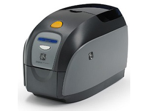Zebra ZXP Series 1 Single-Sided Card Printer with Ethernet and Magnetic Encoder Z11-0M0C0000US00