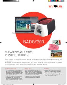 Badgy200 Brochure • Digicard Services