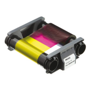 Evolis Badgy YMCKO Color Ribbon for 100 prints