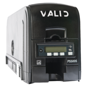 Polaroid/Valid Dual-sided ID card printer w/ Mag Stripe Encoder (USB/Ethernet)